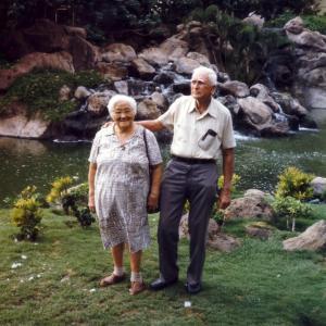 Grandma & Grandpa Ralston at the Wailea Beach Marriott Resort in Kihei, Maui (Sept. 1986)
