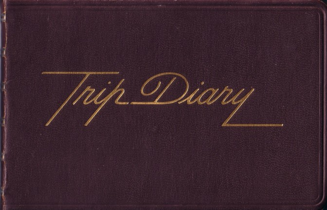 "My ""Trip Diary"" in 1975"