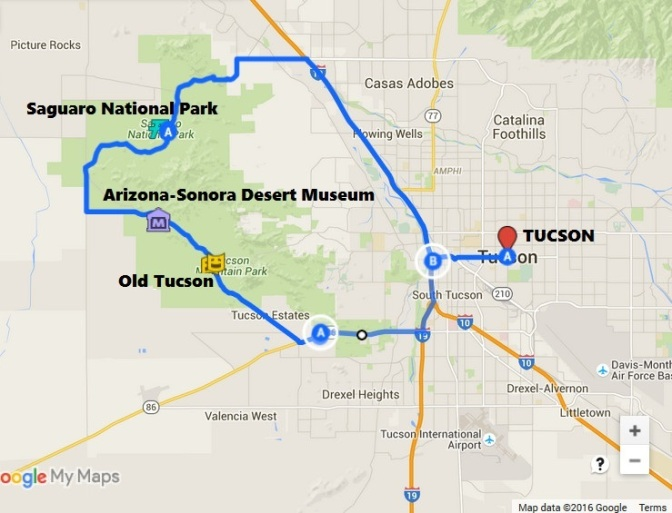 Map-SaguaroNatPark-OldTucson