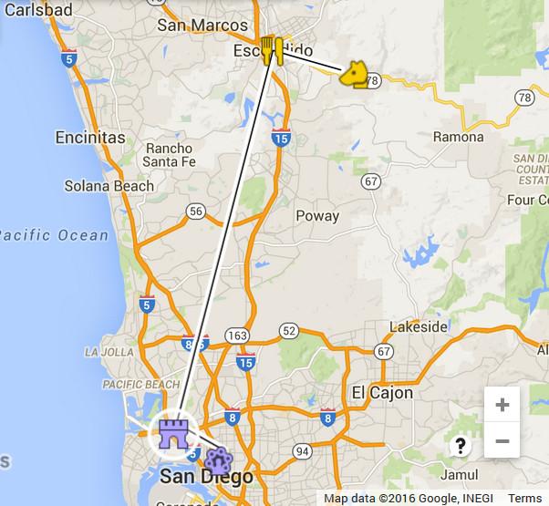 Map-San Diego 27Aug1975