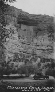 In 1906, U.S. President Theodore Roosevelt and the Antiquities Act, offered some protection to Montezuma Castle. The public could climb a series of ladders to view the rooms until 1951, when access was stopped due to extensive damage.