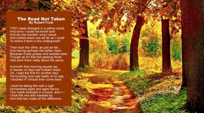 Poem-TheRoadNotTaken