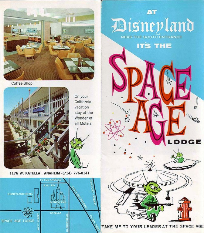 Flyer for the Space Age Lodge