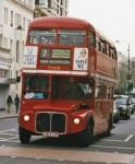 double decker bus