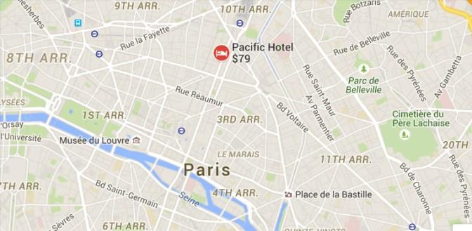 Map-Paris-Cimitiere du Pere Lachaise