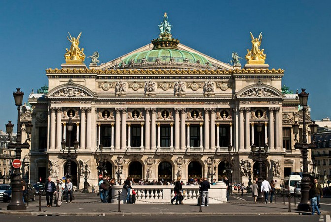 Palais Garnier of l'Opéra de Paris (Photo Credit: Peter Rivera via Wikipedia)