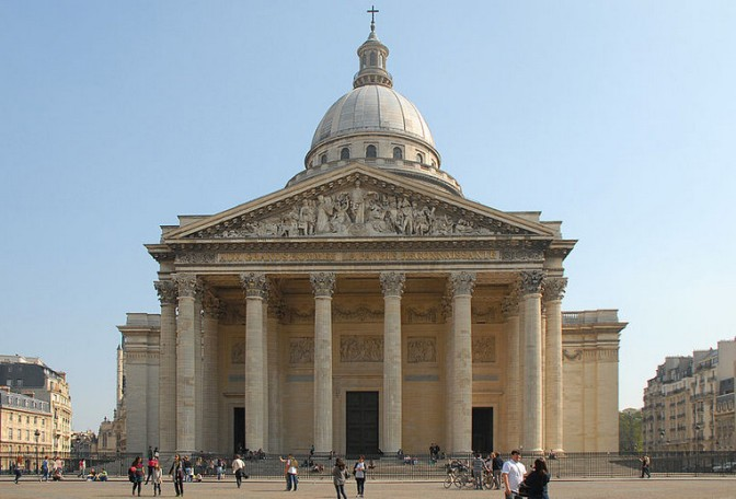 The Pantheon in Paris (Photo Credit: Camille Gévaudan)