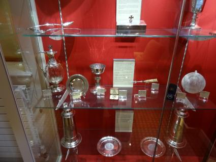 Royal or ecclesiastical items from another age