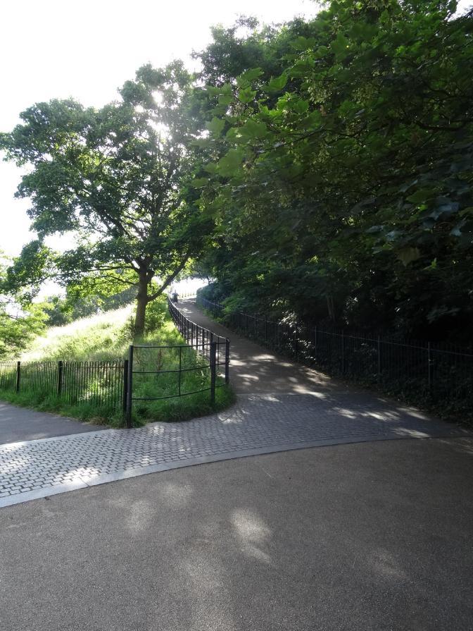 Greenwich path