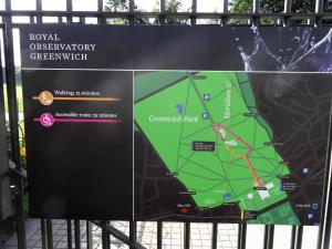 Greenwich walking map